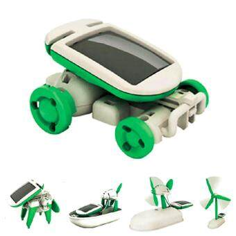 Solar Green Energy DIY Robot, Educational Fun Learning TransformerCreative Magic Toy, Children Birthday Gift