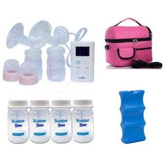 Spectra 9 Plus Portable Double Electric Breast Pump (Double Pump)Package