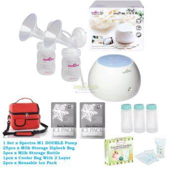 Spectra M1 Double Breast Pump Set Value Package