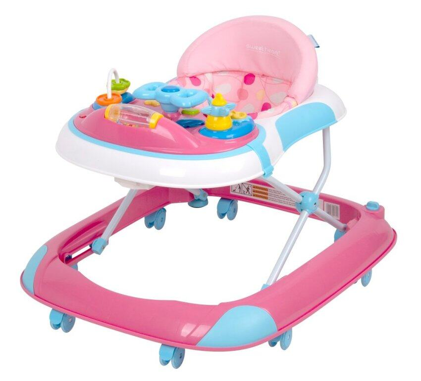 Baby walkers are still popular in Malaysia, but they are actually dangerous and do nothing to help babies learn to walk. UK data suggests that more accidents and injuries happen in baby walkers than with any other form of baby equipment. - BabyCenter.