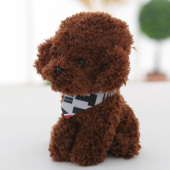 Teddy cute wedding cloth doll dog doll