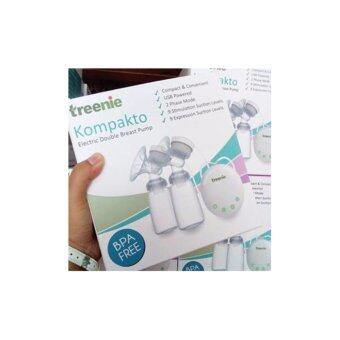 treenie Kompakto Electric Double Breastpump with FREE GIFT