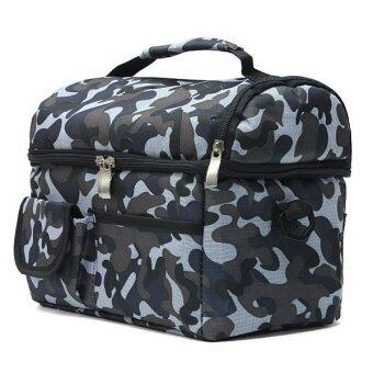 V-Cool Cooler Bag Army Grey (Double Compartments)