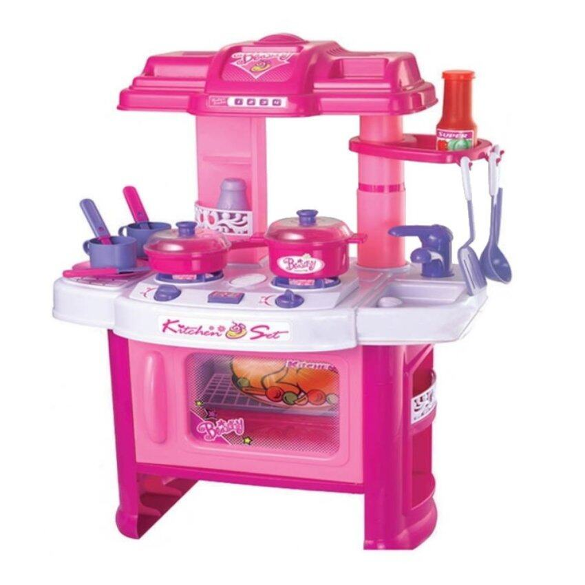 Beauty play set lazada malaysia for Kitchen set 008 82