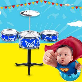 YBC Kids Jazz Drum Percussion Instrument Great Musical EarlyEducation Toy