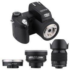 "5.0MP CMOS 3"" TFT LCD Screen HD Digital Camcorder Camera Photo 4032×3024 Resolution 21X Optical Lens with Flashlight D3200"
