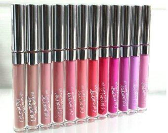 12 pcs Top NEW Brand Make up Colour pop Lip Gloss Ultra MatteLiquid Lipstick