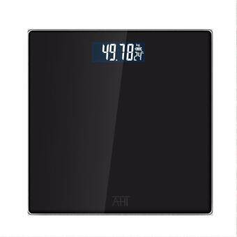 Aprilla Digital Scale High Accuracy Weight Scale Precisionhousehold weighing machine body weight loss measuring scale (Black)