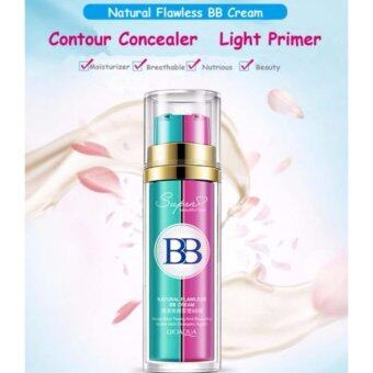 Bioaqua 2 In 1 Base Makeup BB Cream Primer Foundation Flawless Make Up(NATURAL)
