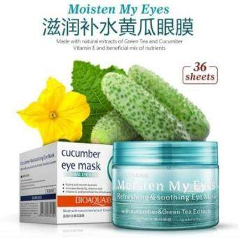 BIOAQUA-CUCUMBER MOISTURIZING EYE MASK X 36pcs pads per Jar