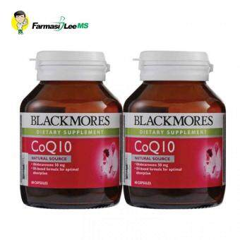 Blackmores COQ10 50mg 60 Capsules Pack-Of-2 (Exp 08/2019)