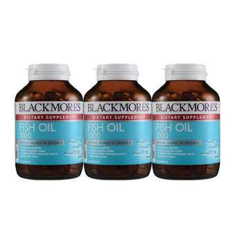**Blackmores Fish Oil 1000mg 120 Capsules Pack-of-3-F
