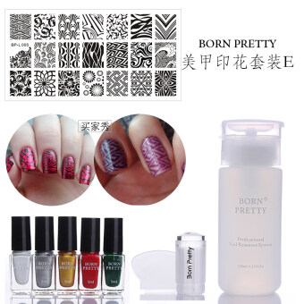 Born pretty BP-l nail Print template series