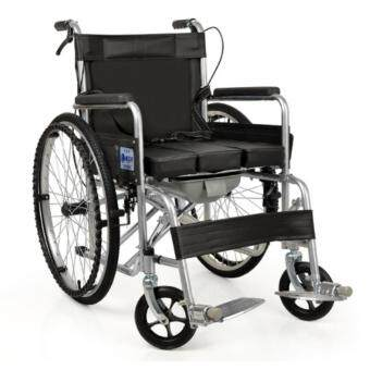 Commode wheel Chair solid tyres