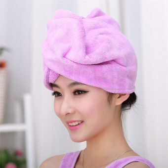 Cute rub hair quick-drying hair drying towel dry hair cap