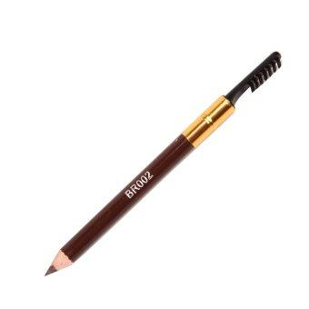 Fancyqube MU-152 Eyeliner Pencil With Eyebrow Brush (Brown)