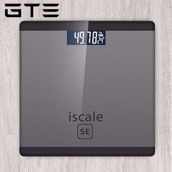 GTE Iscale SE Weighing Machine Body Weight Measuring Electronic Digital Scale 180KG With LCD Display - Grey