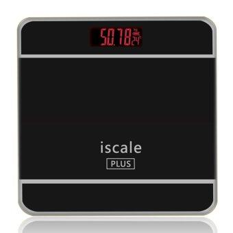 Iscale Plus Digital Scale High Accuracy Weight Scale (Black)