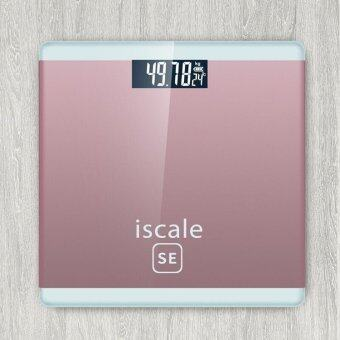 Iscale SE Digital Scale High Accuracy Weight Scale (Rose Pink)
