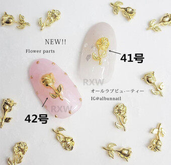 Japanese nail jewelry Japan with the money nail jewelry 2017 rose jewelry nail polish glue phototherapy jewelry 10 pieces dress