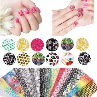Jo.In New 20 Sheets Nail Art Transfer Stickers 3D Design DIYManicure Tips Decal Decorations
