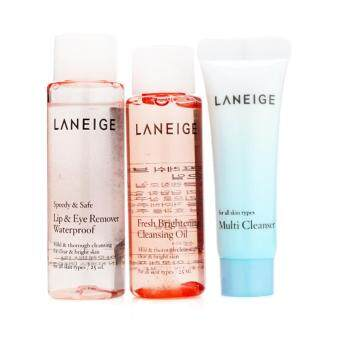LANEIGE Cleansing Trial Kit - 3 items(100% Authentic)