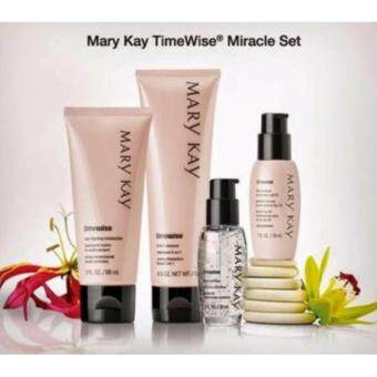 Mary Kay TimeWise Miracle Set ~ Normal/Dry, (cleanser, moisturizer , day solution & night solution)100% Authentic