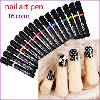 Nail Art Pen for 3D Nail Art DIY Decoration Nail Polish Pen Set 3DDesign Nail Beauty Tools Paint Pens #12