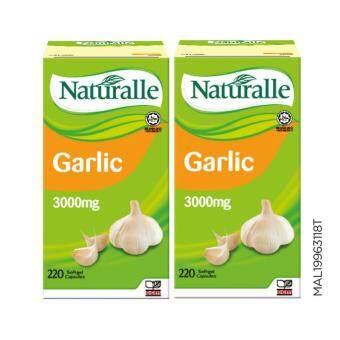 NATURALLE Garlic 3000mg 2 x 220's