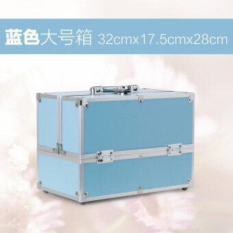 New style large big capacity multi-layer cosmetic box