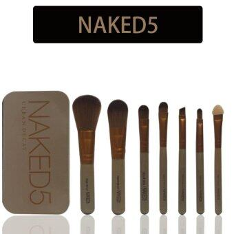 NK3 12 makeup brush gold tin box NK4NK5 7 makeup brush professionalmake-up make-up tool set