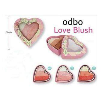 Odbo Lovers Bouquet Pink Sweet Heart Cookie Blusher #2