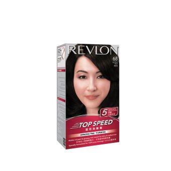 REVLON Revlon Top Speed Hair Color Brownish Black 1PC | Lazada ...