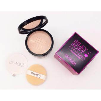 Sinma Bioaqua Silky Soft Honey Powder Loose Powder (Light) #03