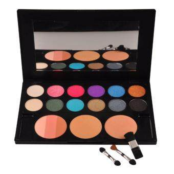 Sinma Meis Multi functional Make Up Palette Eyeshadow Blush Foundation Powder 3 in 1 Palette 01