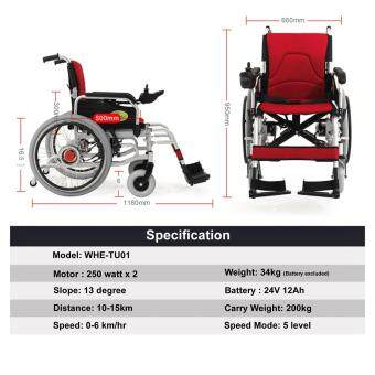StonBike Electric Wheel Chair (WHE-TU01)