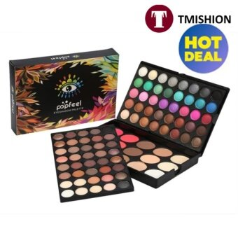 TMISHION Professional 80Colors Eyeshadow in Makeup + 15Colors Blusher & Concealer Contour Eye Palette Set