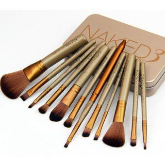 Yika NK3 12 makeup brush gold tin box NK4NK5 7 makeup brushprofessional make-up make-up tool set