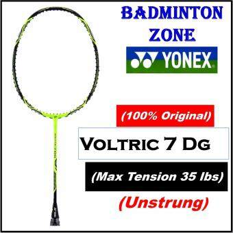 [100% Authentic] Yonex (1pcs) Voltric 7 DG (3UG5) Black Lime (Unstrung) Badminton Racket