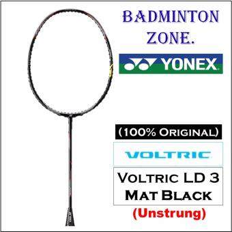 [100% Authentic] Yonex Voltric LD 3 Mat Black (4UG5) (Unstrung) Badminton Racket