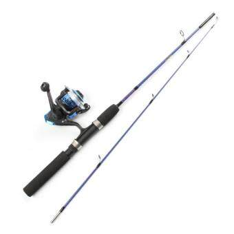 1.2 M/1.5 M Fishing Rod Reel Kits Lure Fishing Rod Glass Rod (1.5m)