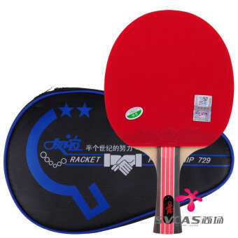 A star 729ppq gold four-star finished product shot table tennis racket