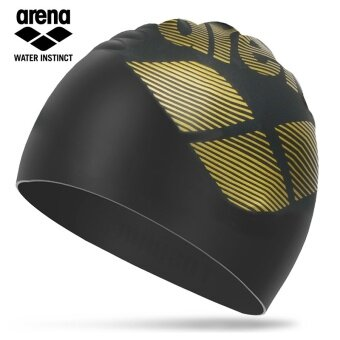 Arena Shishang men and women adult printed silicone swimming cap
