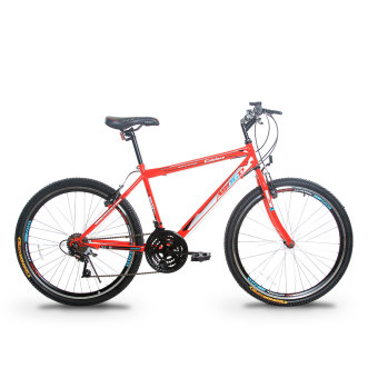 Asogo Mountain Bike 26 Inch with 21 Speed Matte Red