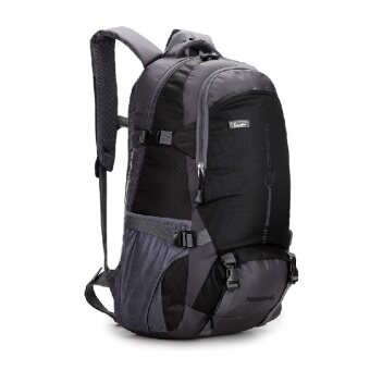 EcoSport 45L Waterproof Outdoor Hiking Backpack (Black) | Lazada ...