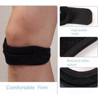 Fancyqube Adjustable Magnetic Sport Knee Protect Strap PatellaTendon BraceSupport Wrap