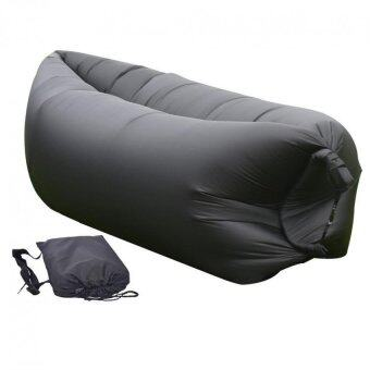 Fast Inflatable Air Sleeping Bag Camping Bed Beach Hangout SofaLazy Sofa Lazy Hangout Inflatable Air Bag Outdoor Camping SleepingBed