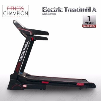 FITCHAMP: 1 YEAR WARRANTY!! 3.0HP Luxury Electric Treadmill A