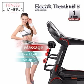 FITCHAMP: 1 YEAR WARRANTY!! 3.0HP Luxury Electric Treadmill B