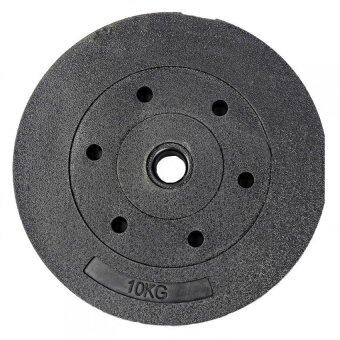 High Grade Bumper Dumbbell Weight Plate Barbell Plates 10KG Piece